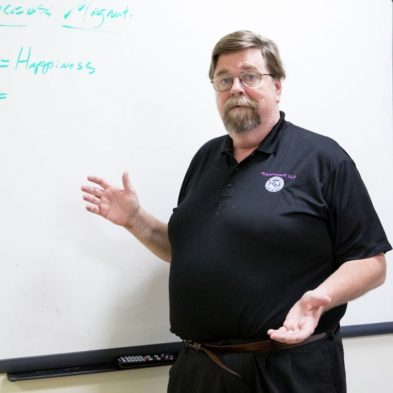 tim horn teaching classroom